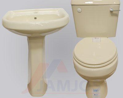 Cream Virony Close Couple Toilet